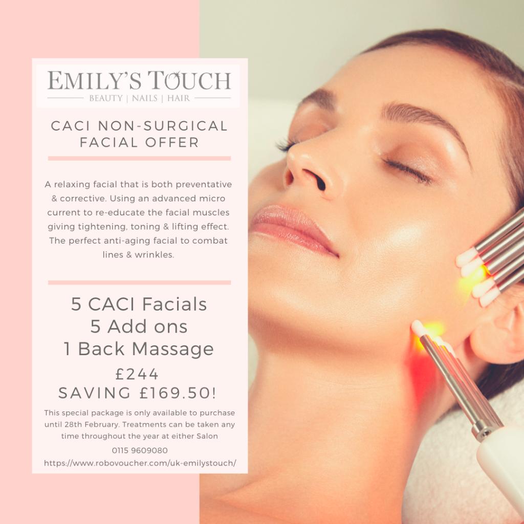 offer caci salons nottingham beauty